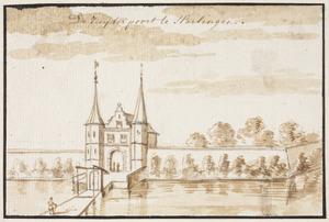 De Zuiderpoort in Harlingen