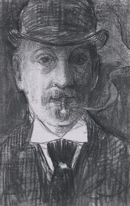 Portret van Theodoor van Hoytema (1863-1917)