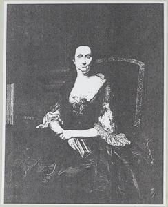 Portret van Agatha Maria Sena (1692-1772)