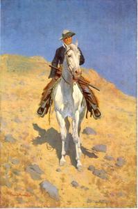 Zelfportret te paard