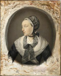 Portret van Elisabeth de Waal (1756-1813)