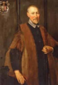 Portret van Volkert Herkinga (1586-1662)