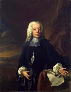 Portret van Johann Friedrich von Uffenbach (1687-1769)