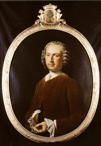 Portret van Herman Draveman ( -1780)