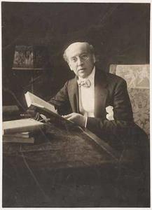 Portret van Louis Anne Marie Couperus (1863-1923)