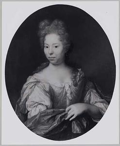 Portret van Ida Agatha Temminck (1679-1716)
