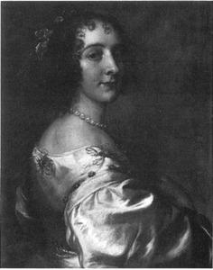 Portret van een vrouw, mogelijk Utricia Ogle (1616-1674)