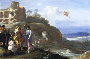 Mercurius ontwaart Herse (Ovidius Met. II)