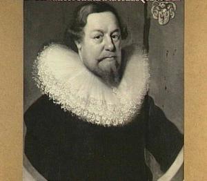 Portret van Henricus Rhala (1591-1640)