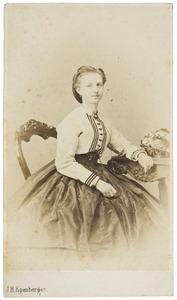 Portret van Jeannette Gabrielle Rengers Hora Siccama (1844-1925)