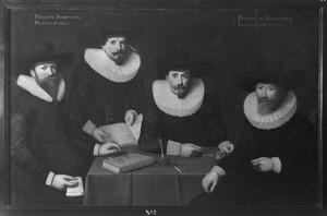 Regenten van het Walenweeshuis, Amsterdam, 1633