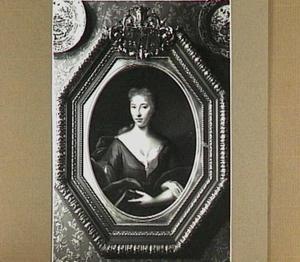 Portret van Maria Harthals (1703-1763), echtgenote van Theodorus Bisdom (1698-1777)