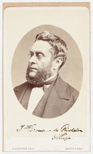 Portret van J. Hermans de Ridder