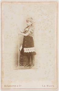 Portret van Marie Alexandrine Otheline Caroline gravin van Bylandt (1874-1968)