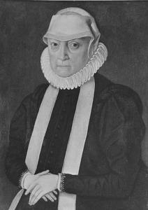 Portret van mogelijk Anna Jagiellonska (1523-1596)
