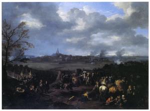 De inneming van Naarden door Willem III, 1673