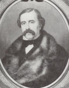Portret van Jan Eduard de Vries (1808-1875)