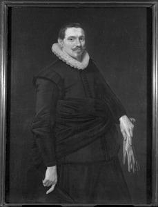 Portret van Jacob Jansz. Hop (1588- )