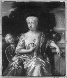 Portret van Cornelia Jacoba Kemp (1696-1755) en Pieter van Schuylenburch (1714-1764)