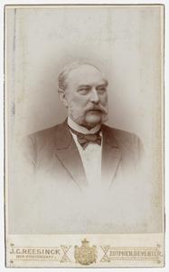 Portret van E.G. Volkersz (1833-1899)