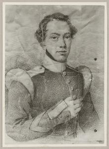 Portret van Herman Willem Lodewijk Alexander Bruijns (1814-1842)