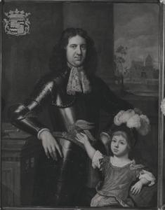 Portret van Johan van Hardenbroek (1644-....) en zijn zoon Willem Hendrik van Hardenbroek (1688-1711)