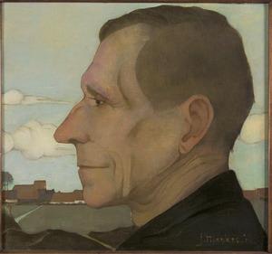 Portret van Beint Mankes (1850-1916)
