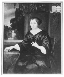 Portret van Geertruyt Balotius (....-1690)