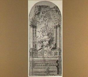 Ontwerp voor een altaar in de Kerk van het Kasteel te Antwerpen