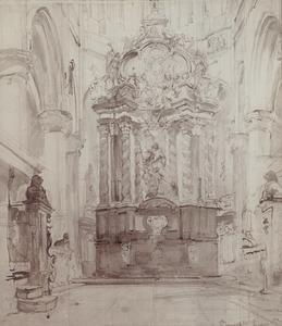Hoogaltaar in de St. Jacobskerk in Antwerpen