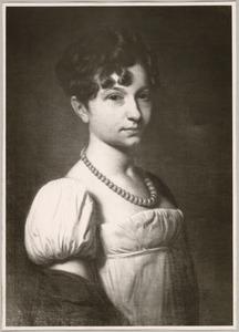 Portret van Sara Johanna Hulft (1792-1838)