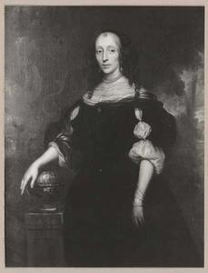 Portret van Dina van Nes (1623-1681)