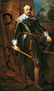 Portret van Jan VIII 'de Jongste' graaf von Nassau-Siegen (1583-1638)
