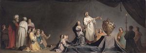 Artemisia en de urn met de as van haar man Mausollos