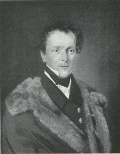 Portret van de Hofjägermeister graaf Carl Schimmelmann
