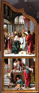 De Presentatie in de Tempel, Ecce Homo