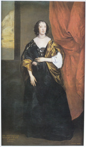 Portret van Anne Cavendish, Lady Rich (1611-1638)