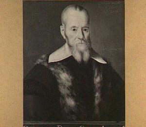 Portret van Georgius Pasor (1570-1637)