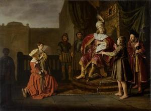 Cyrus wordt aan zijn grootvader Astyages voorgesteld