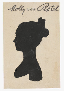 Portret van Mathilde von Pestel (1809-1816)