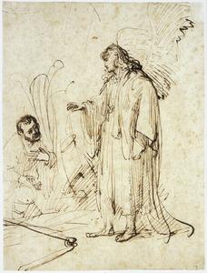 De engel verschijnt aan Gideon (Rechters 6:11-18)