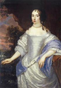 Portret van Louise Henriette van Oranje-Nassau (1627-1667)