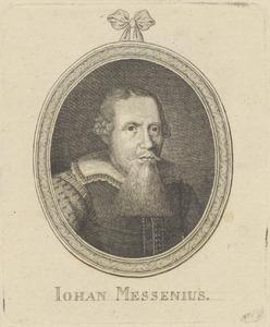 Portret van Johannes Messenius (1579-1636)