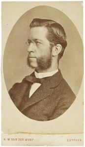 Portret van Adolph Marius Karel Wolphgangh van Ittersum (1833-1904)