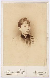 Portret van Lucie Françoise Brunilde Malmberg (1861-1895)