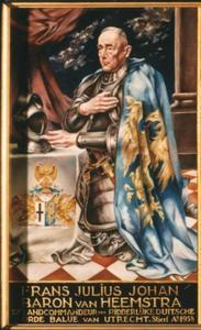 Portret van Frans Julius Johan baron van Heemstra
