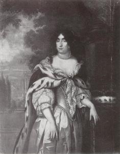 Portret van Dorothea Sophie von Schleswig-Holstein-Sonderburg-Glücksburg, tweede vrouw van Friedrich Wilhelm von Brandenburg (1636-1689)
