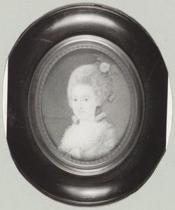 Portret van Harmina Bardon (1756-1827)