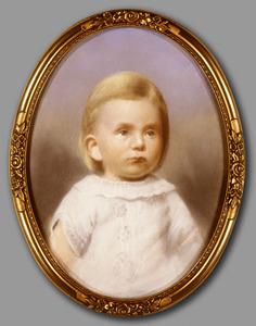 Portret van Lamberta Johanna Hofstede (1886-1975)