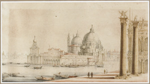 Dogana en S. Maria della Salute, Venetië